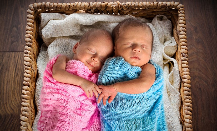 baby picture ideas for every month - How to Twins to Sleep Through the Night TwinStuff