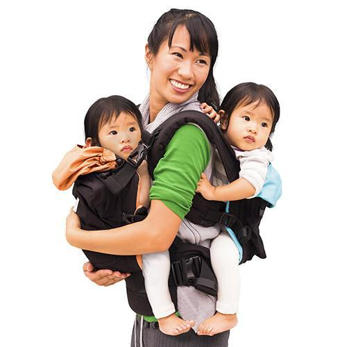 using the twin go baby carrier