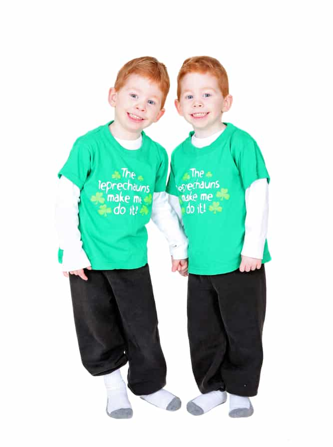 do twins skip a generation