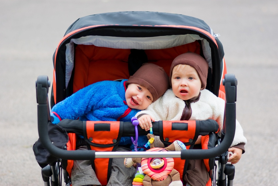 twin side by side stroller