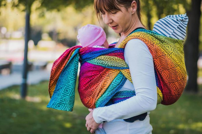 double baby carrier