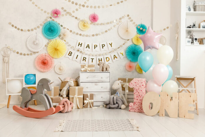 Twins First Birthday Party
